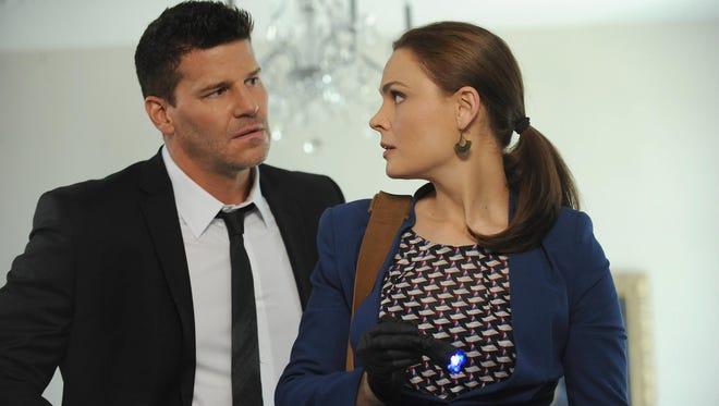 Booth (David Boreanaz)  and Brennan (Emily Deschanel) will be back for a 10th season of Fox drama 'Bones.'