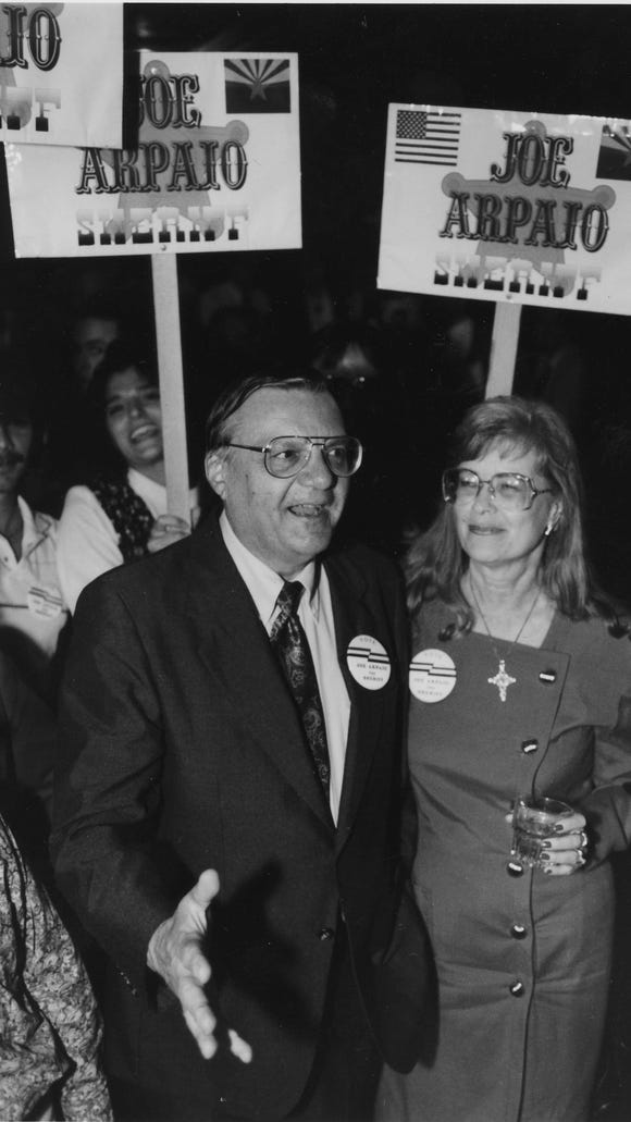 Joe Arpaio during his first campaign in 1992