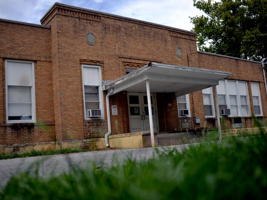 A vacant school building on Panther Road is up for