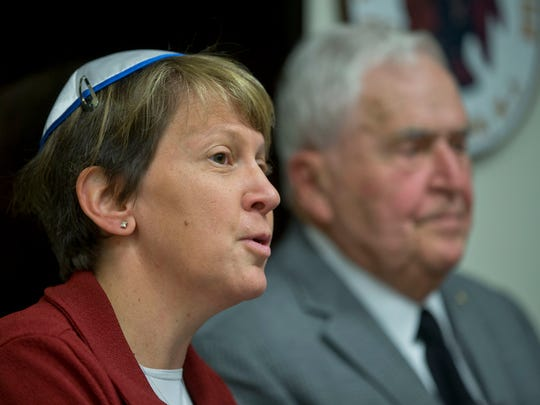 "Rabbi Ellen S. Wolintz-Fields of Congregation B'nai Israel comments on the situation. Toms River Mayor Thomas Kelaher holds a press conference to respond to Lakewood mayor's criticism over Kelaher's remarks likening Orthodox Jews to ""an invasion.""