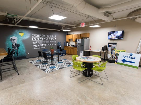 The Underground, St. Clair County's first full-service busness incubator, support center and innovation center, is located underneath Sperry's Moviehouse at 301 Huron Ave., Port Huron.