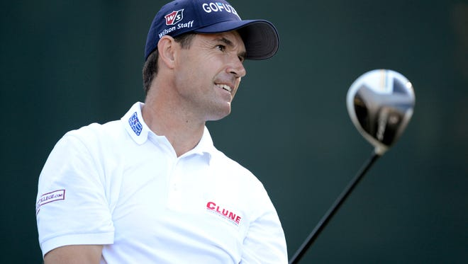 Padraig Harrington, shown playing in last year's U.S. Open, announced that he has been treated for skin cancer.