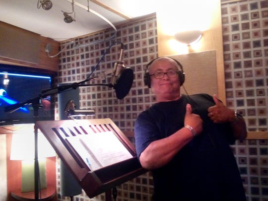 """Andrew Harvey says he spent the better part of a week in a Burbank, Calif., sound studio last summer recording the voice of Marlin for the Navajo-language version of """"Finding Nemo."""""""