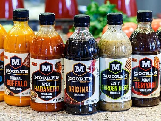 Salsas Marinade Moore's