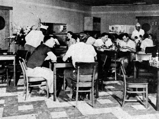 Soileau's Dinner Club following their remodeling in 1949.