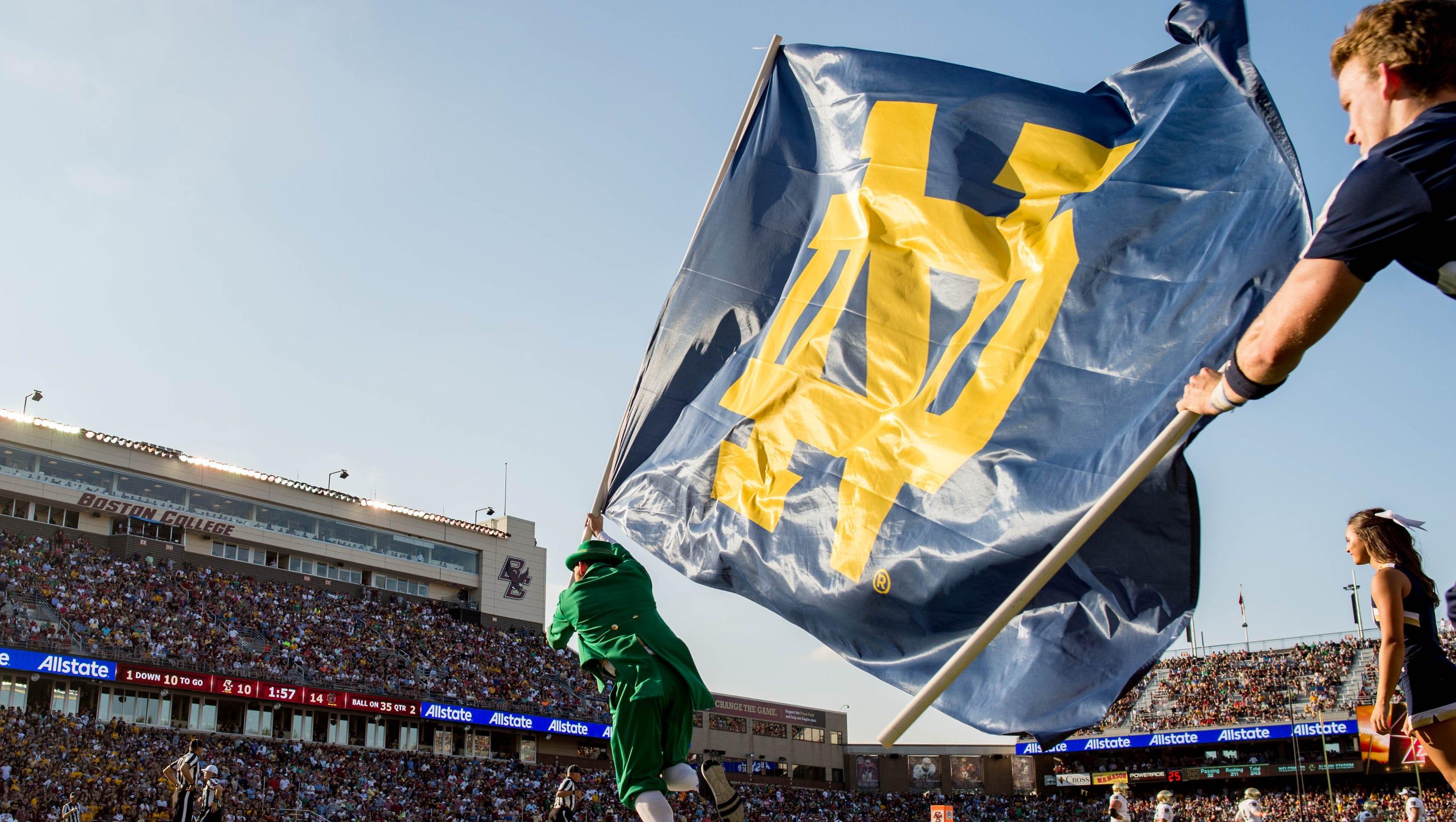 College Football Notre Dame Vs Boston College