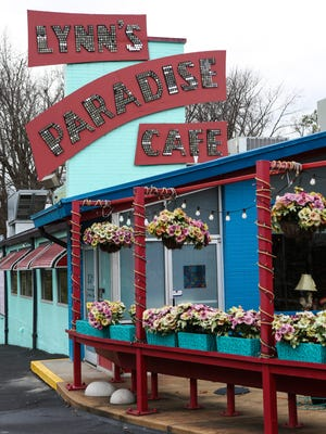 Outside of Lynn's Paradise Cafe on Barrett Avenue on Wednesday afternoon. Dec. 16, 2015