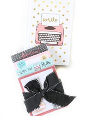 Fresh inpiration: Anne Was Here memo pad and journal, $6.99 each, at Steinmart.