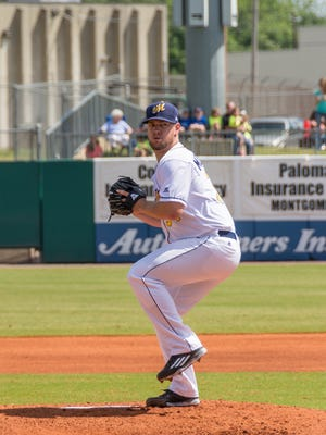 Former LSUS ace Jared Mortensen transformed himself into a knuckleball-throwing reliever for the Double A Montgomery Biscuits.