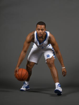 2016-17 UK basketball player Isaiah Briscoe. Sept. 15, 2016