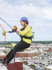To reserve a rappel spot, participants must be 16 years of age and raise a minimum of $1,000 before May 26.