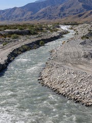Water from the Colorado River flows to groundwater