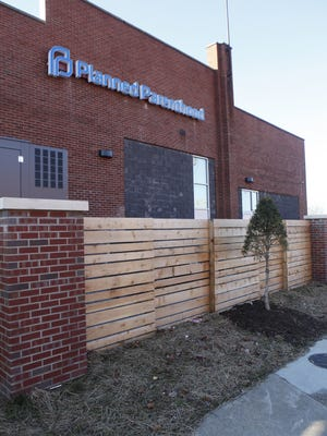 The Planned Parenthood building on Seventh Street opened in early 2016.