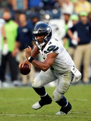 Russell Wilson knows the Colts' Jacoby Brissett from