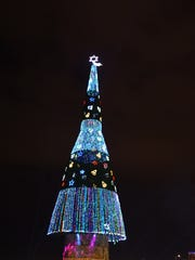 World tallest christmas tree in Galle face public ground,