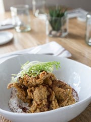 The fried oysters at The Fat Lamb. Jan. 3, 2018.