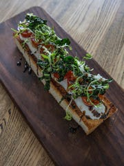 The ricotta brioche toast, at The Fat Lamb. Jan. 3,