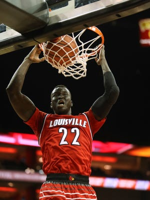 Deng Adel was the most polished and efficient player on the court Friday at the KFC Yum Center.