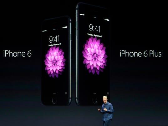 AP APTOPIX Apple Event