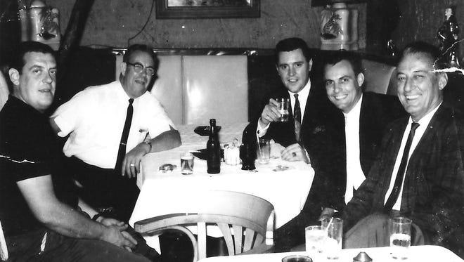 Jug Eckert (far right)