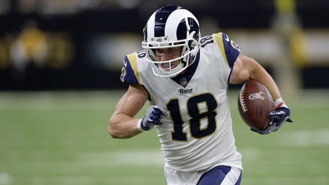 Los Angeles Rams wide receiver Cooper Kupp came back from 2018 knee surgery and caught a team-best 94 passes for 1,164 yards and 10 touchdowns last season.