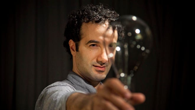"""Radiolab creator and host Jad Abumrad will present """"Gut Churn,"""" a multimedia performance about storytelling and innovation, at Emerge 2015."""