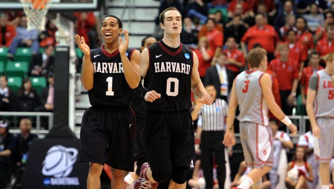 Harvard knocked off New Mexico in the second round of last year's NCAA tournament