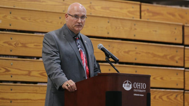 Greg McKeever has been an instructor at the Southern Ohio Police Training Institute since its inception 20 years ago.