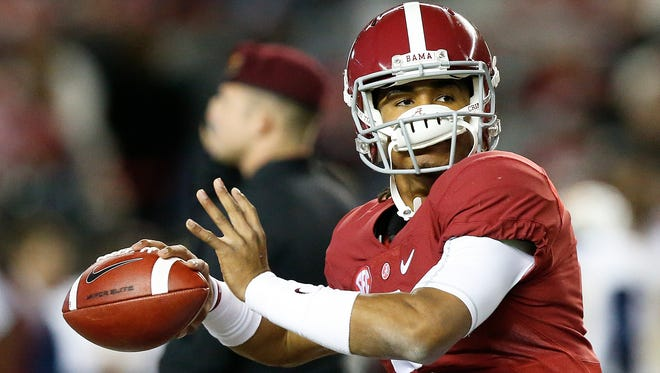 Alabama true freshman quarterback Jalen Hurts is 10-0 as a starter going his first Iron Bowl.