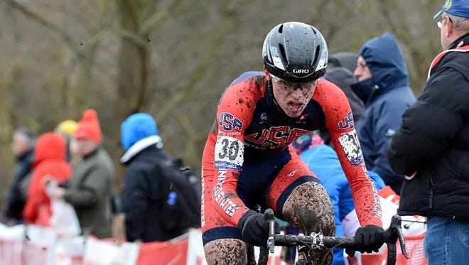 Fort Collins native Brannan Fix, shown in a file photo, won the Division II 2017 USA Cycling Cyclocross National Championship.