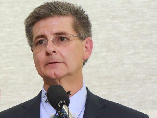 Dan Wyant, Director for the Michigan Department of