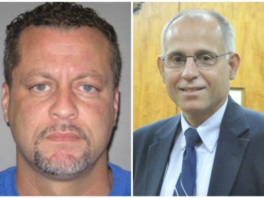 Larry Darnell Gordon, left, is accused of shooting