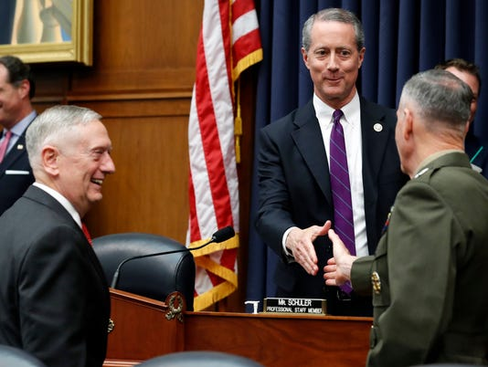 Joseph Dunford, Jim Mattis, Mac Thornberry