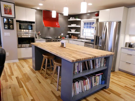 The kitchen at the home of Wanda and Darnell Thompson