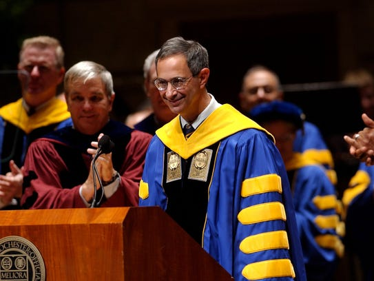 University of Rochester President Joel Seligman is