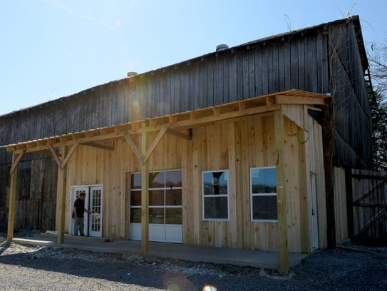 The Delvins are opening the farm store in a 80-year-old