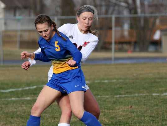 New Berlin West Girls Soccer at Muskego