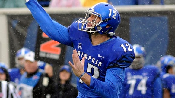 Paxton Lynch tossed seven touchdown passes to seven