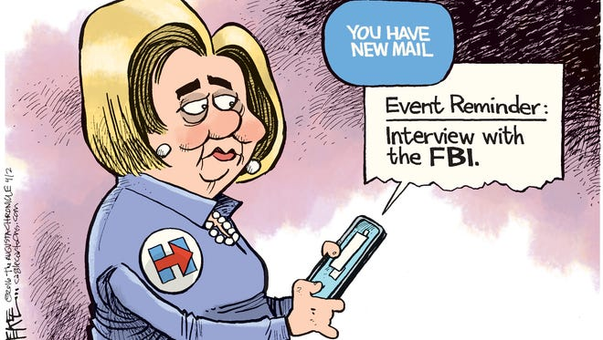 Hillary Email Reminder