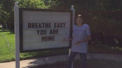 Neighbors help family breathe easy