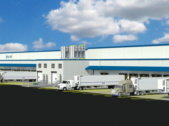 A rendering of the 125,000-square-foot expansion under
