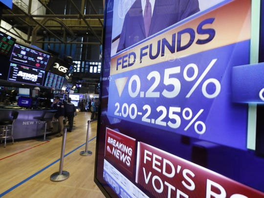 Financial Markets Wall Street Fed Interest Rate