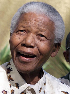 An exhibit of artwork by former South African President Nelson Mandela opens Sept. 9 at Long-Sharp Gallery in Indianapolis.