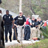 3 shot, including officer, in Montgomery; 1 dead