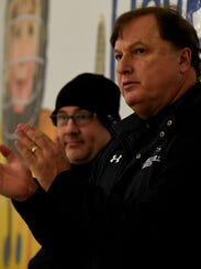 Veteran Bloomfield Hills boys hockey coach Bruce McAlister