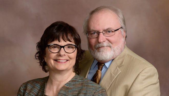 Pastors Jenny Dawson and Jim
