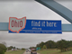 Upon entering Ohio, you'll find this tech-savvy sign