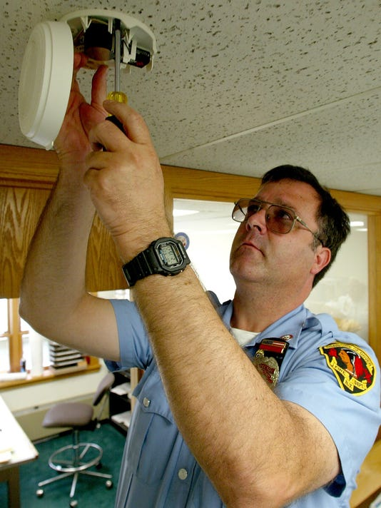 Smoke detector file