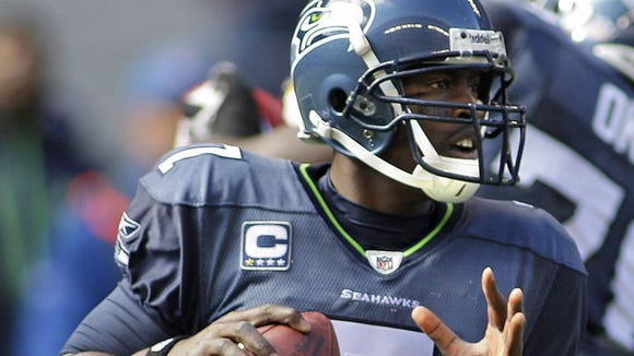 Seattle Seahawks quarterback Tarvaris Jackson plans