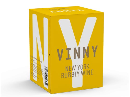 Vinny wine, which comes in cans, is made in the Finger Lakes.